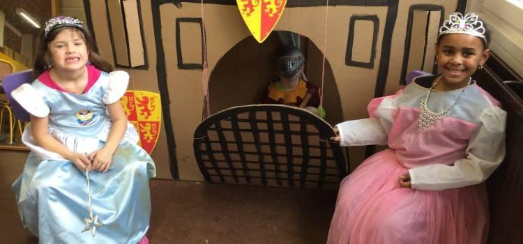 K3A thema 'Ridders en kastelen'
