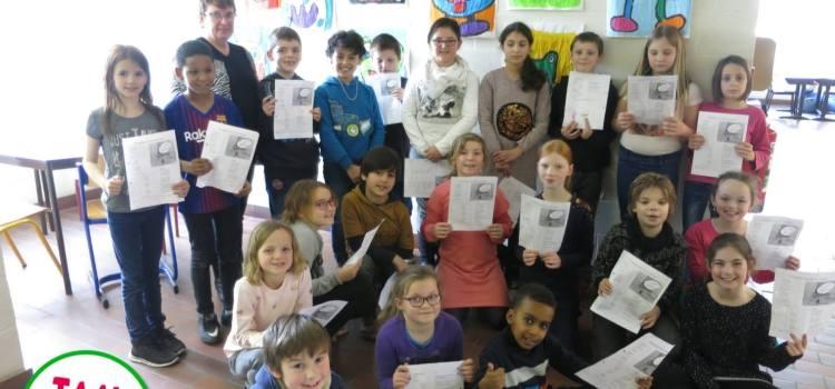 L3 beluistert en ervaart gedichten tijdens de poëzieweek!
