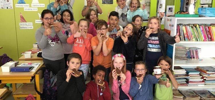 De Klimop eet Fairtrade choco!