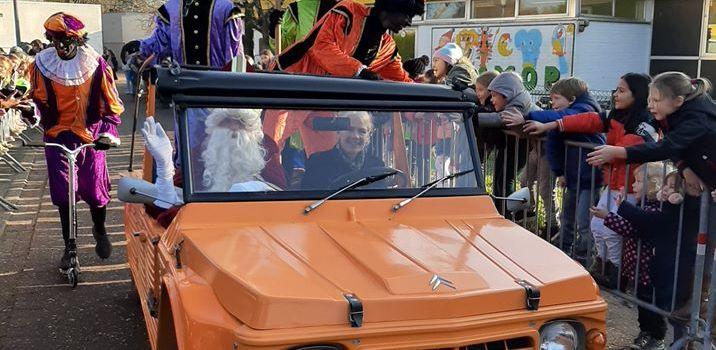 Sinterklaas op bezoek in de Klimop.