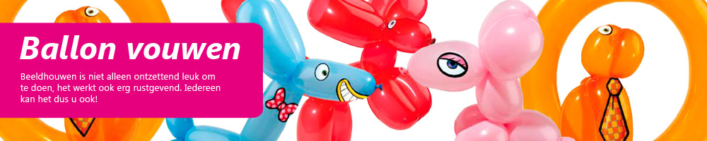 Workshop ballon vouwen