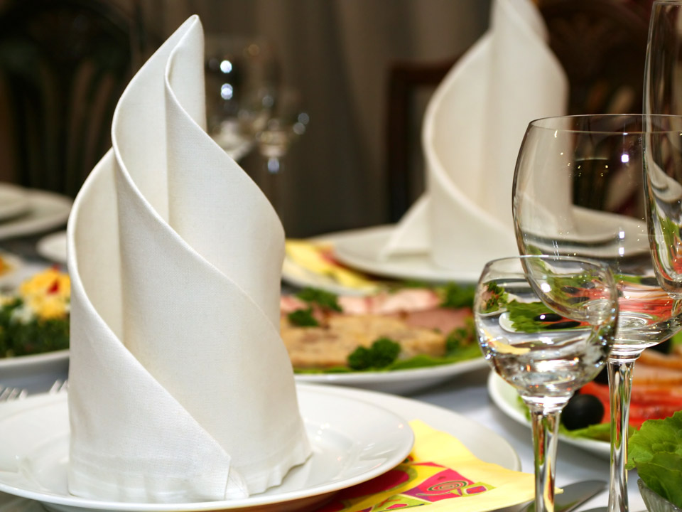 Napkin Folds For Wedding Reception