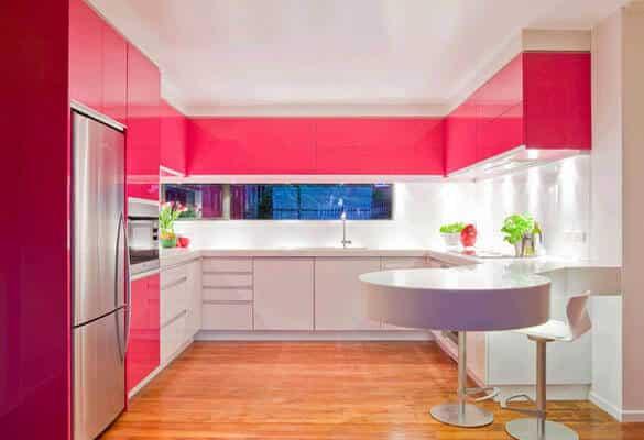 pembe-mutfak-dekorasyonu
