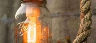 Cam Kavanozdan Lamba Yapımı