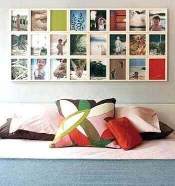 Fotoğraf çerçevesi duvar dekorasyonu