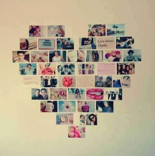 Kalpli fotoğraf dekorasyonu
