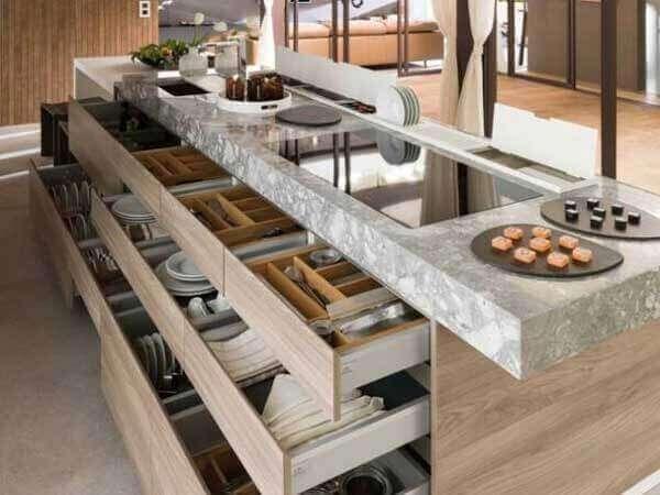 Mutfak çekmece düzenleme