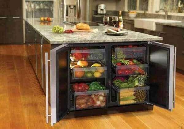 Mutfak içi düzenleri