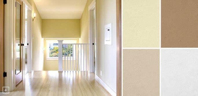 Çakıl taşı duvar rengi için alternatif renkler