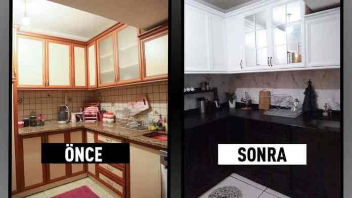 Ahşap Mutfak Dolapları Boyama Maliyet Ne Kadar Olur?
