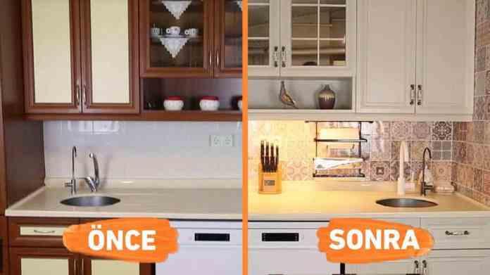 Mutfak Dolabı Evde Nasıl Boyanır?