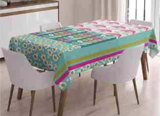 Leke tutmayan masa örtüsü kumaşları