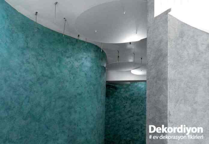 Desenli duvar boyası modelleri