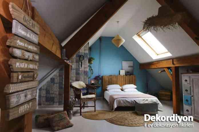 Tavan arası nasıl dekore edilebilir