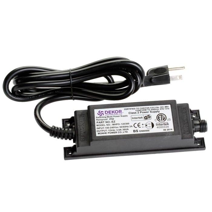 36 watt plugin transformer for led lights