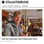 Staantribune TOP 50 VOETBALTWITTERAARS 2016