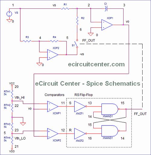 eCircuit Center - Spice Schematics