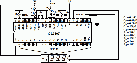 DPM ICL7107 Digital Panel Meter