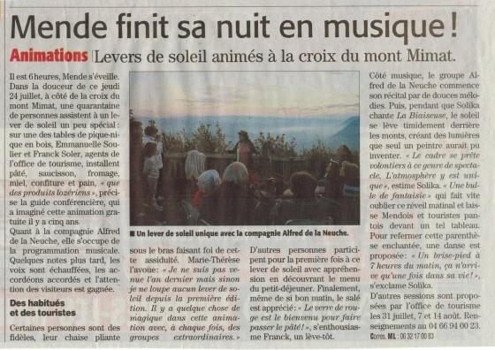 article Midi libre Mende juillet 2014 001