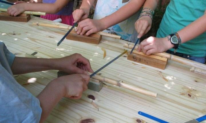 fabrication roseaux ciealfred de la Neuche