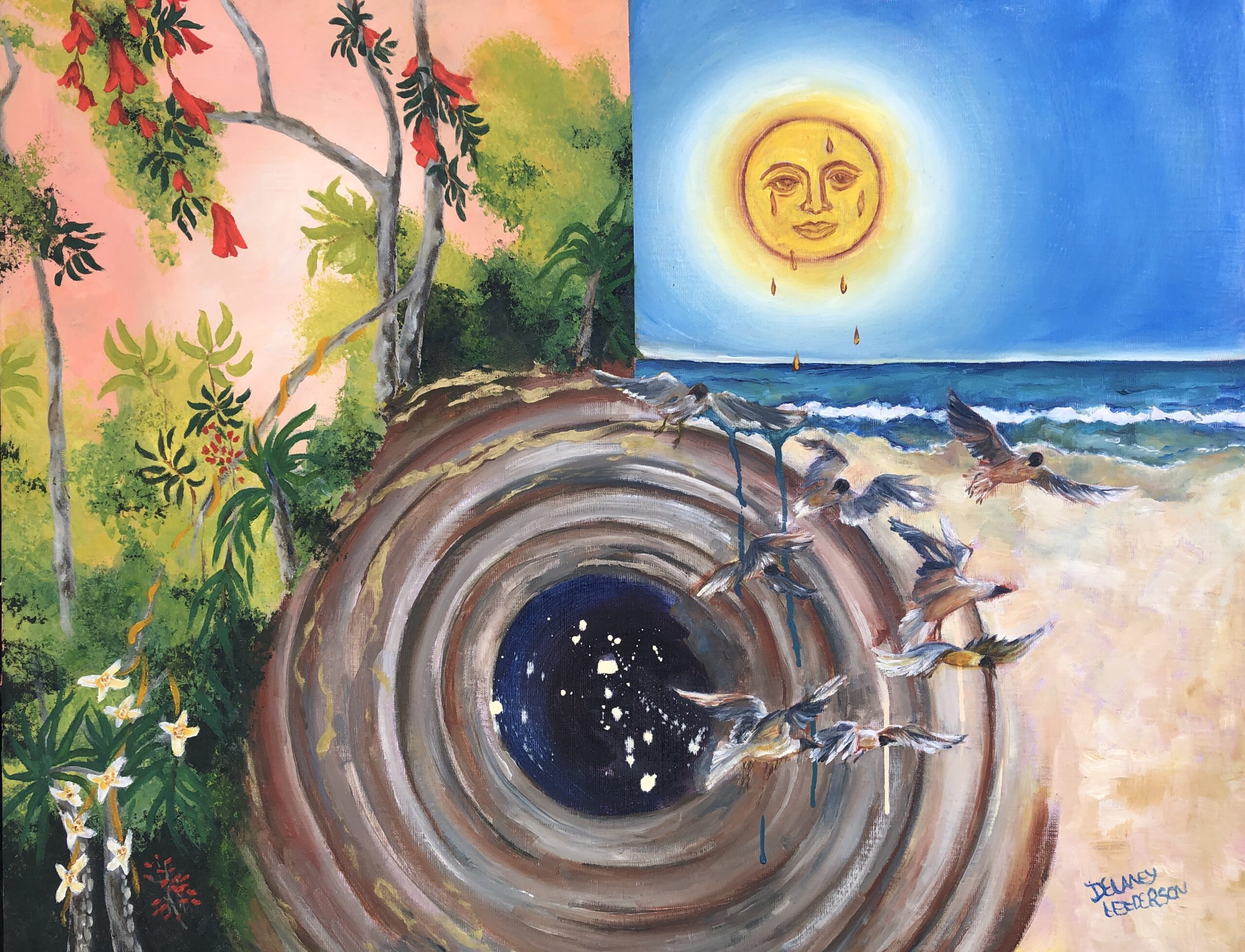 Sun and Space Hole 24