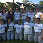 Junior High Softball Team after Win vs. Cabrini