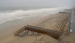 bethany beach, broken walkway, sussex county, storm toby, delaware, noreaster damage