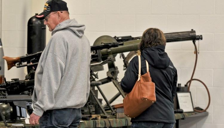 Steele's Antique gun display