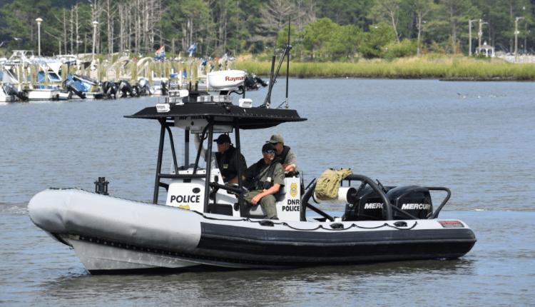 DNREC DNR Police boat