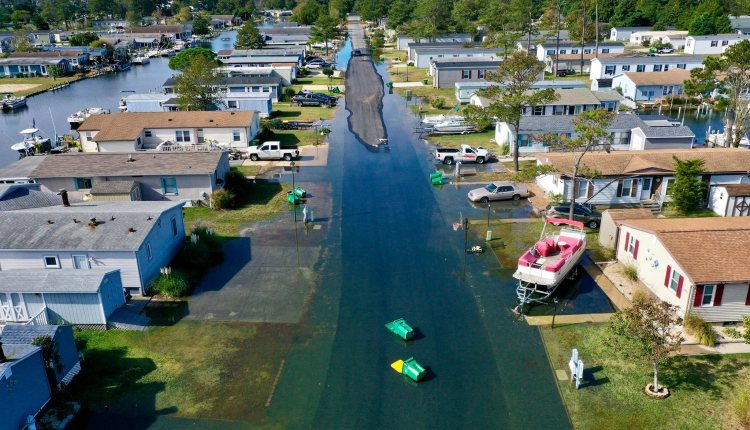 Mariners cove, ever wonder why trash gets into the waterways>  this is a good example … Driscoll Drones