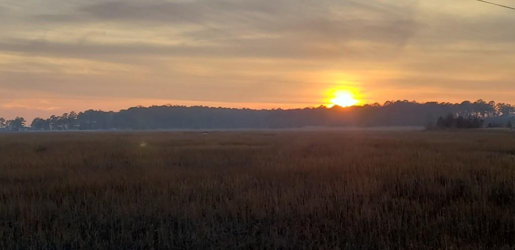 sunset, long neck, peninsula, delaware, sussec couunty
