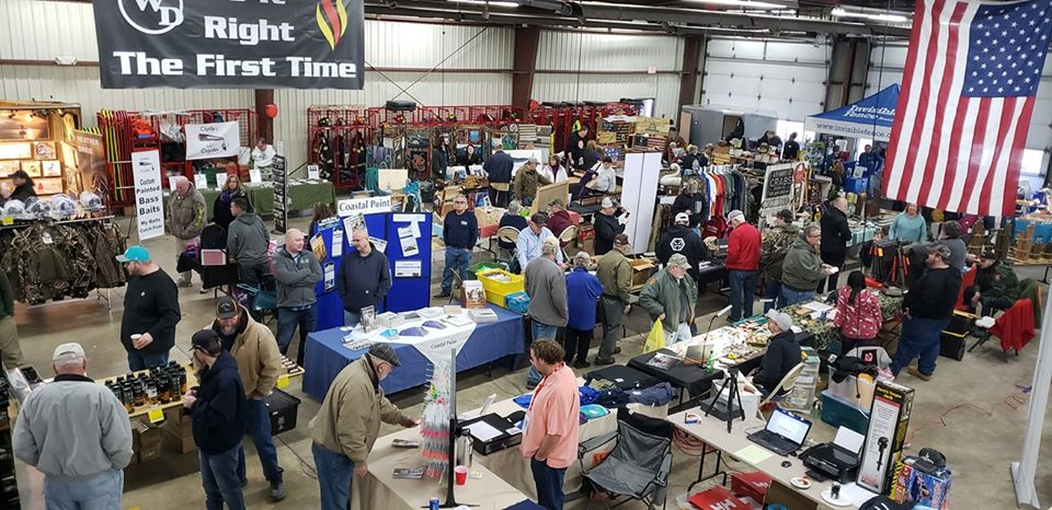Millville Fire Company's Outdoorsman Marketplace, outdoors show, hunting, fishing, boating, rvs, delaware, sussex county