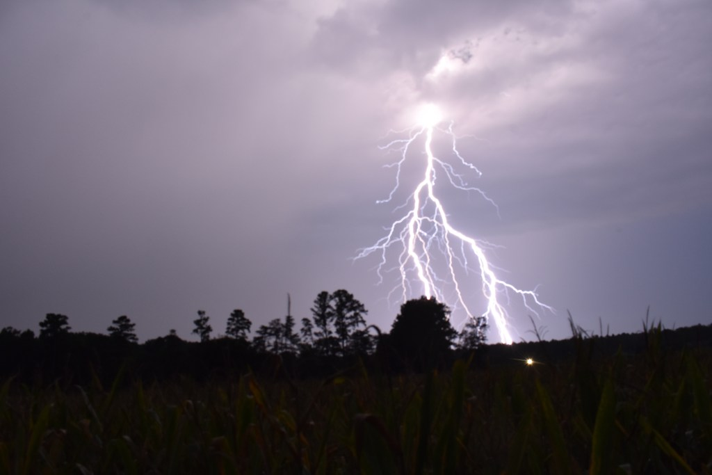 lightening, delaware, sussex county, thunder storm