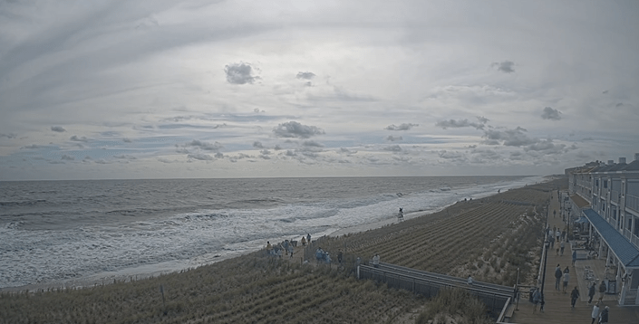 Bethany beach, big surf,