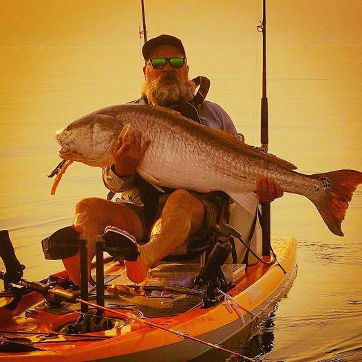 red drum, bull red, oc kayak, kayak fishing, Maryland, eastern shore kayak fishing