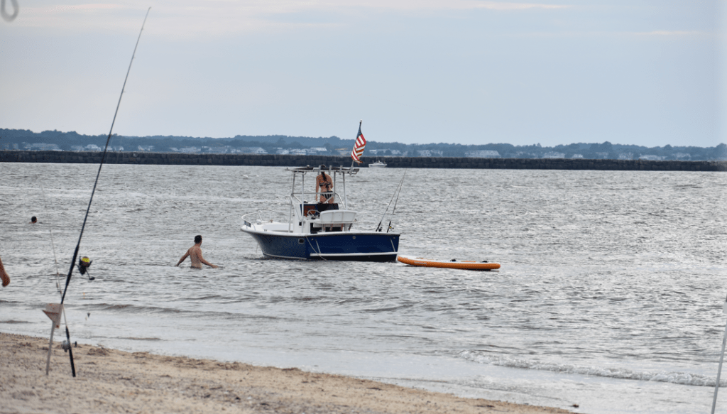 child nearly drowns at the point, cape henlopen state -park, delaware state parks, the point