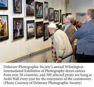 Delaware Photographic Society's annual Wilmington International Exhibition of Photography