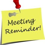 Meeting Reminder clipart