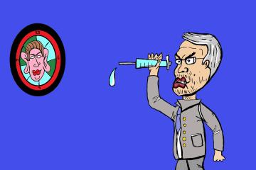 Herbert Kickl Karikatur