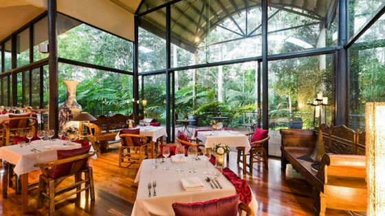 Country Fine Dining Pethers Rainforest Retreat