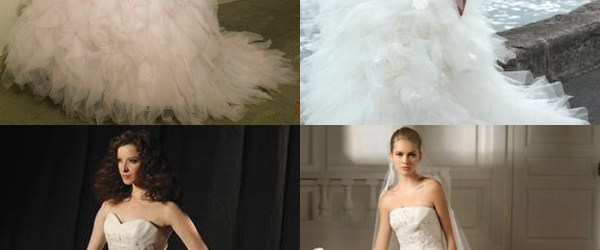 wedding gowns - DelectablyChic!