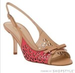 Webitor's Picks from the Closet:  Shoes with a Hint of Pink of Orange