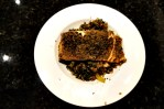 Valentine's Day Solo: Treat Yourself to Salmon, Spinach and Bulgur
