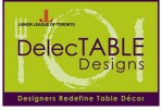 See Beautiful Dining Room Concepts at DelecTABLE Designs April 27-29