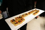 One of the many appetizers served at the Powder Puff event