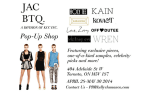 Kelly Claman Pop-Up Shop on Spadina and Adelaide