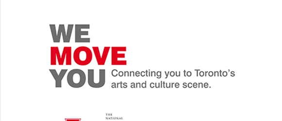 national ballet of canada, national ballet, ttc, transit, toronto transit commission