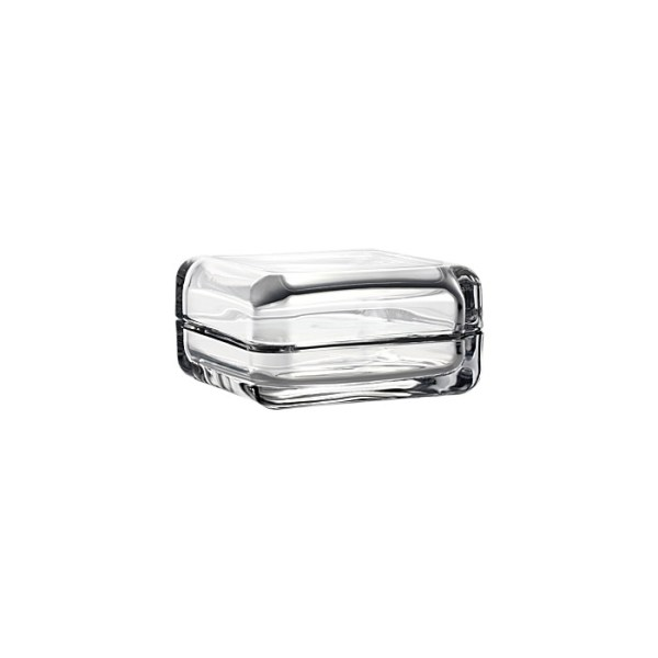 Caja cristal transparente Vitriini de la firma finlandesa iittala