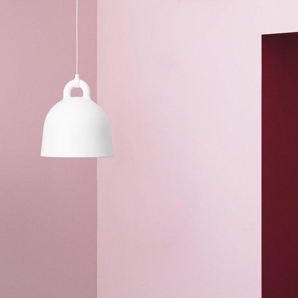 Lampara Bell de Normann Copenhagen acabado blanco