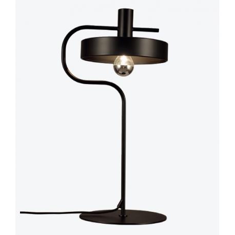 Lámpara de mesa Aloa de Aromas del Campo en negro mate.